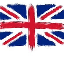 Abstract Union Jack by TheTomlinsons
