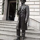 Abraham Lincoln Statue, New York Historical Society, New York City by lenspiro