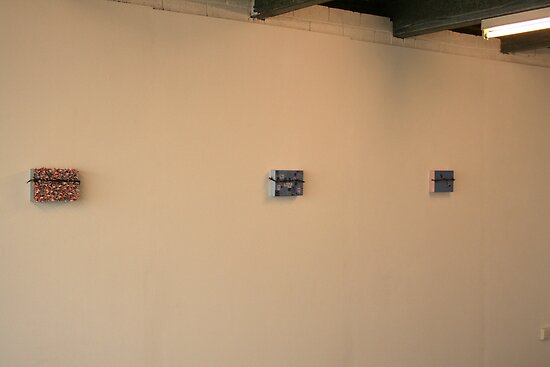 My Solo Exhibition Wall 1 by Alice Dunn