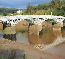 Bridge over the River Wye by RedHillDigital