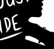 Lana Del Rey silhouette  Sticker