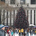 Christmas Tree, Bryant Park Skating Rink, Bryant Park, New York City   by lenspiro