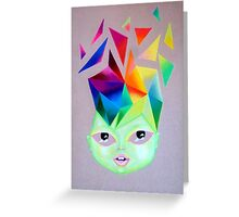 Mind Blowing Greeting Card