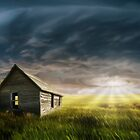 Old Farm House. by Cliff Vestergaard