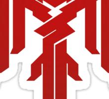 Champion of Kirkwall Dragon Age 2 white text Sticker