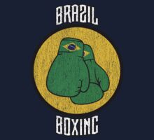 Brazil Boxing Kids Clothes