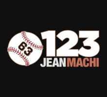 123 Jean Machi - San Francisco Giants Relief Pitcher by zeech