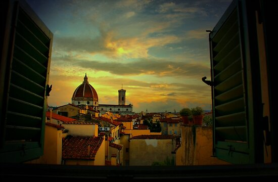 A Window on Florence by Barbara  Brown