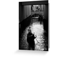 Under the Bridge of Sighs Greeting Card