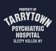 Tarrytown Psychiatric Hospital Sleepy Hollow Property Of Distressed Design by DeepFriedArt