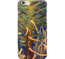 Forest Phantoms - Oils on Canvas by Matthew McCurdy. iPhone Case/Skin