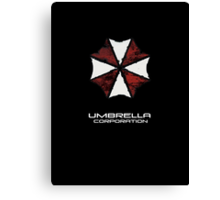 Umbrella Corporation iphone Case, iPod Case, iPad Case and Samsung Galaxy Cases Canvas Print