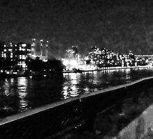 NYC Skyline East River by MissCellaneous