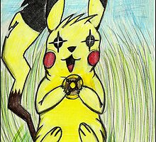 What is a pikachu without his light ball? by Christopher Shorten
