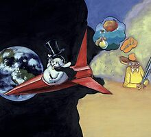 Roald Dahl and the Rocketship Rabbit by Daniel Rodgers