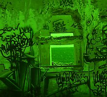 Graffiti room with a view... by Bevsimages