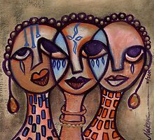 Pincurl Girls 2 by Makeba Kedem-DuBose