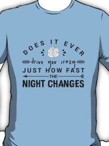 FOUR Night Changes T-Shirt