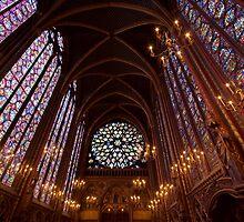 The Magnificient Saint Chappelle in Paris by Suraj Mathew