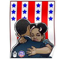 DEMOCRATIC CAMPAIGN 2012: OBAMA'S EMBRACE Poster