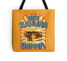Big Kahuna Burger Fast Food Tote Bag