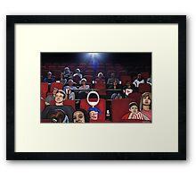 Corky @ the Cinema Framed Print