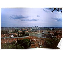 Prague from the Castle 1 Poster