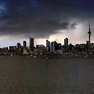Auckland Panorama IR by Ant Vaughan