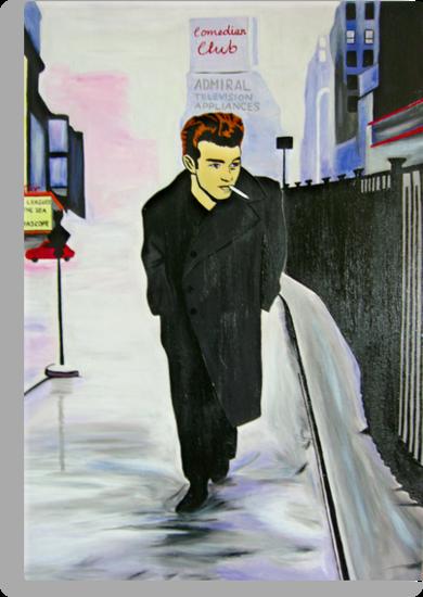James Dean Boulevard Of Broken Dreams by Azzurra