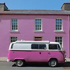 Pink Kombi Nation by Yampimon