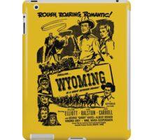 Wyoming 1947 Movie Poster iPad Case/Skin
