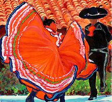 Spanish Dancers in Old Town San Diego by RD Riccoboni by RDRiccoboni