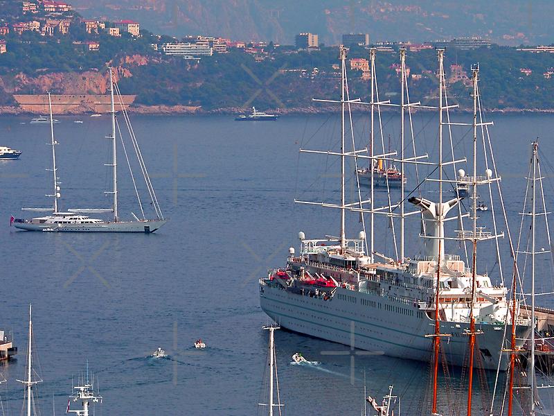 Monaco Harbour by Tom Gomez