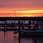 Cape Cod Sunset by Christine Frydenborg Dargon