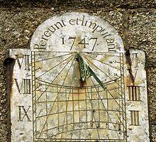Vertical Sundial, St Buryan Parish Church by Rod Johnson