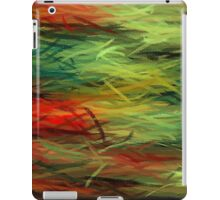 Colorful Painting Abstract Background #5 iPad Case/Skin