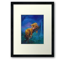 The Lion Sleeps Tonight Framed Print