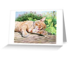 Lenord Greeting Card