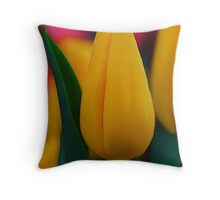 Terrific Tulips Throw Pillow