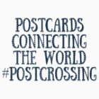 Postcards Connecting The World #Postcrossing Stickers by tropicalsamuelv
