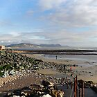 View to Charmouth from Lyme Dorset UK by lynn carter
