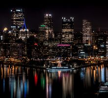 Reflections of Pittsburgh by Shadrags