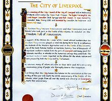Freedom of the City of Liverpool by John Brotheridge