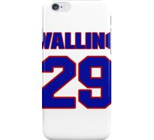 National baseball player Denny Walling jersey 29 iPhone Case/Skin