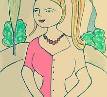 Girl by mariaerza