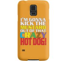 Crazy Hot Dog Samsung Galaxy Case/Skin