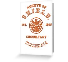 Agents of S.H.I.E.L.D. Consultant Greeting Card