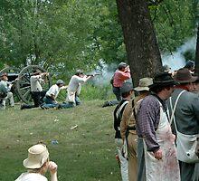 American Civil War reenactment by Jim Caldwell