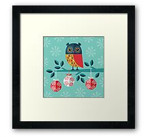 Whoo-Hoo It's Christmas! Framed Print