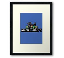 minecraft 2 Framed Print